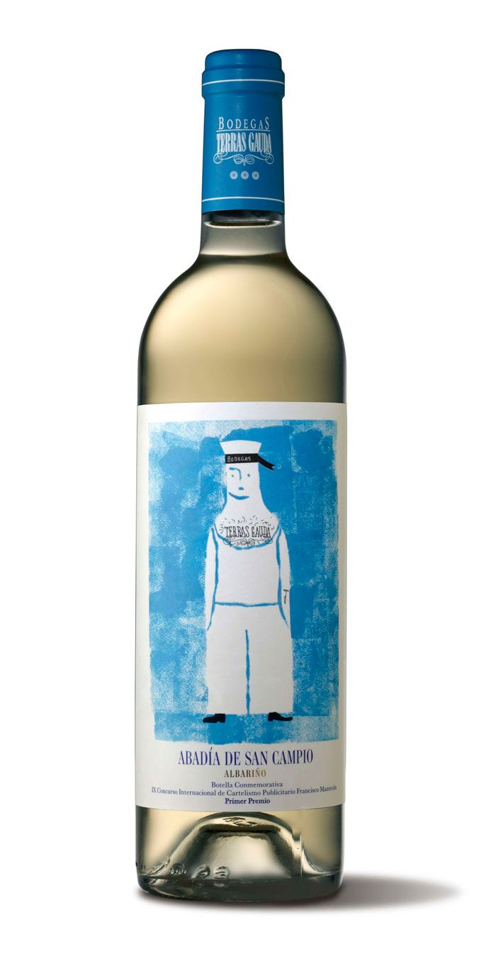 What cute sailor wine packaging PD