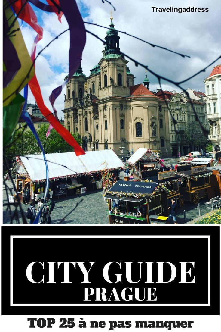 City guide de Prague, République Tchèque. Visites guidées, musées, pont charles, colline de Pétrin, tour Eiffel, parc de Letna et bien d'autres.