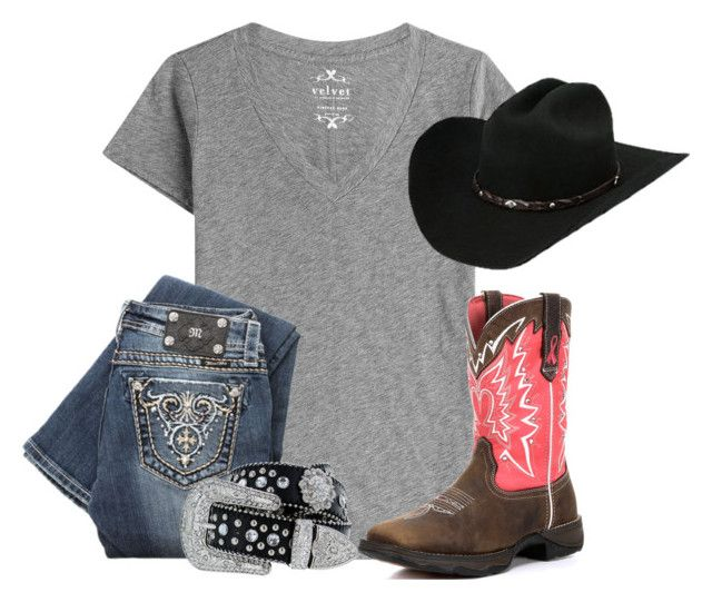 Exact rodeo ootd by americanhoney-1 on Polyvore featuring polyvore, moda, style, Velvet, Miss Me, fashion and clothing