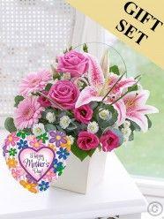 Pink Exquisite Arrangement & Mother's Day Balloon