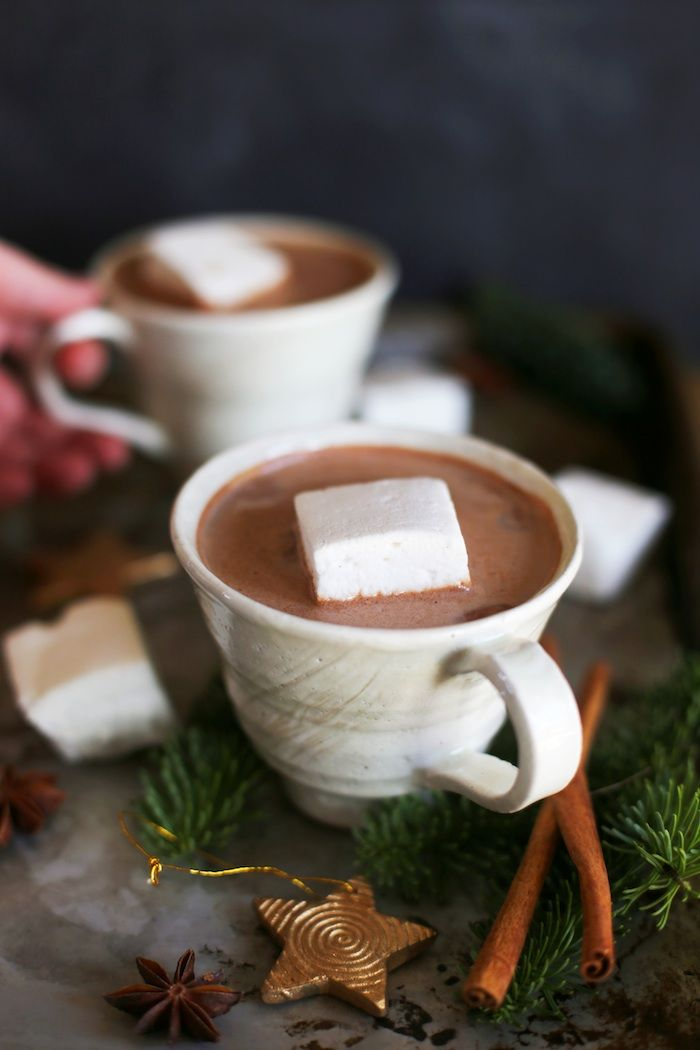 Chinese 5 Spice Hot Chocolate is the perfect solution to #holiday entertaining! It's a twist on a classic that is sure to become a favorite #recipe. | Set the Table