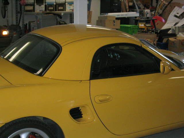 Porsche Boxster 986 hardtop
