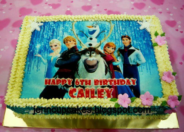 Jenn Cupcakes & Muffins: Disney Frozen [