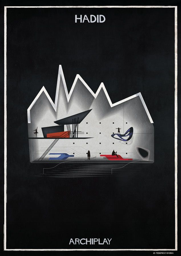 Gallery of Federico Babina's ARCHIPLAY Illustrations Imagine Set Designs by Master Architects - 1