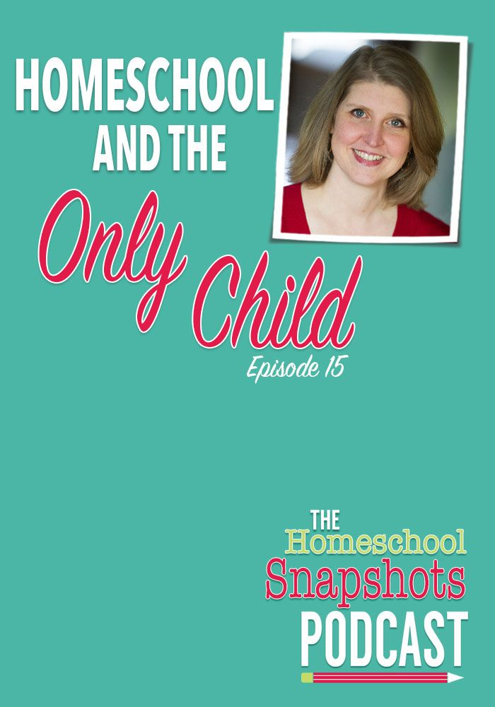 Homeschool Snapshots Podcast Episode 15  Jimmie Lanley: Homeschool and the Only Child