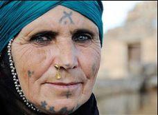 Kurdish tattoos