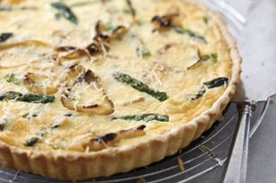 Take brunch to the next level with this vegetarian Asparagus & Parmesan Tart recipe.