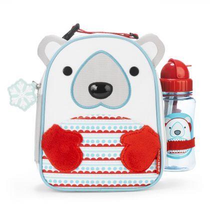 LUNCHÓWKA + BIDON WINTER ZOO Zestaw składa się z termoizolowanej lunchówki i bidonu ze słomką. Do zestawu dołączona jest okazjonalna karteczka z miejscem na wpis imienia osoby, której dedykowany jest ten wyjątkowy prezent. Zestaw jest prześliczny!!! <3 <3 <3   #skiphop #winterzoo #dziecko #prezent