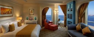 Habtoor Grand Beach Resort & Spa offers some of the best 5 star accommodation Dubai has to offer in an unrivalled setting. All the spacious guest rooms of our Dubai luxury hotel are either sea-facing or overlooking the landscaped gardens.