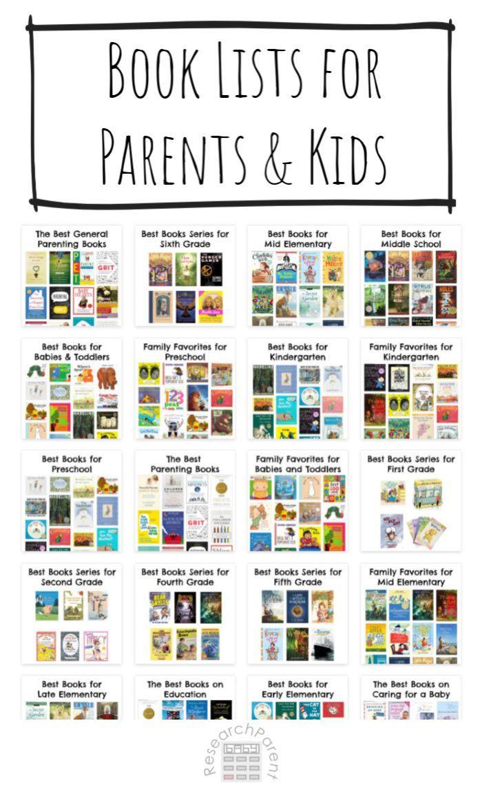 Book Lists For Parents And Kids Homeschool Books Kids Books List Best Children Books