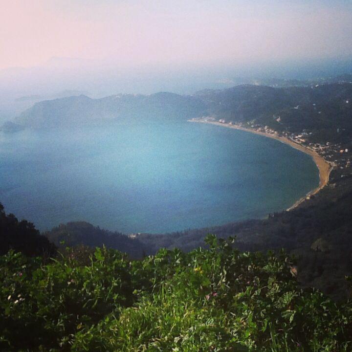 Corfu, saint george, pagoi, view