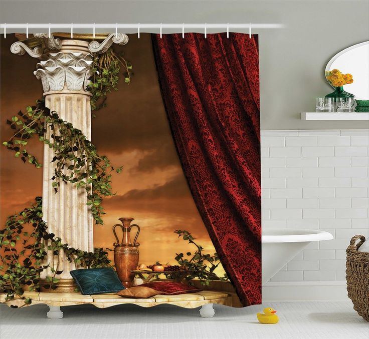Shower Curtain Is Printed On 100 Woven Polyester Construction For Maximum Strength No Liner