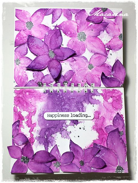 Happiness loading - Art Journal