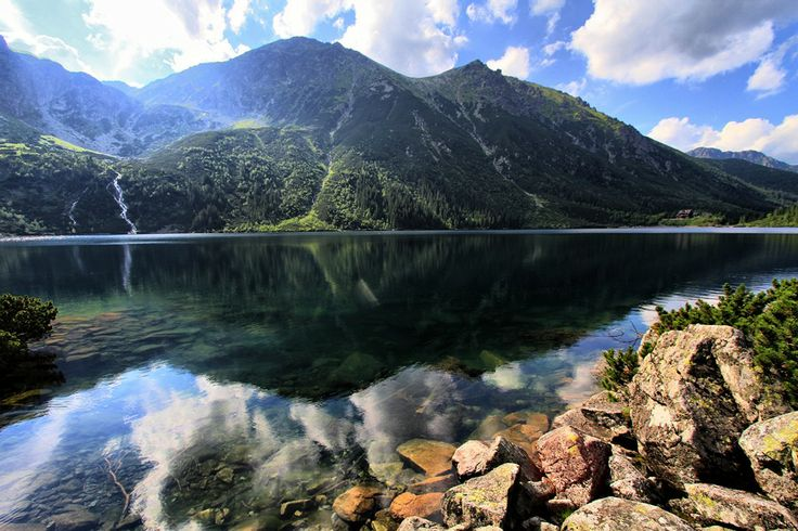 One of the most beautiful places we've ever been to - Morskie Oko lake in Poland.  Check it out