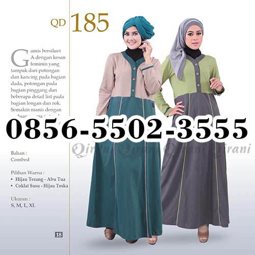 Gamis katun Qirani, HP.0856-5502-3555