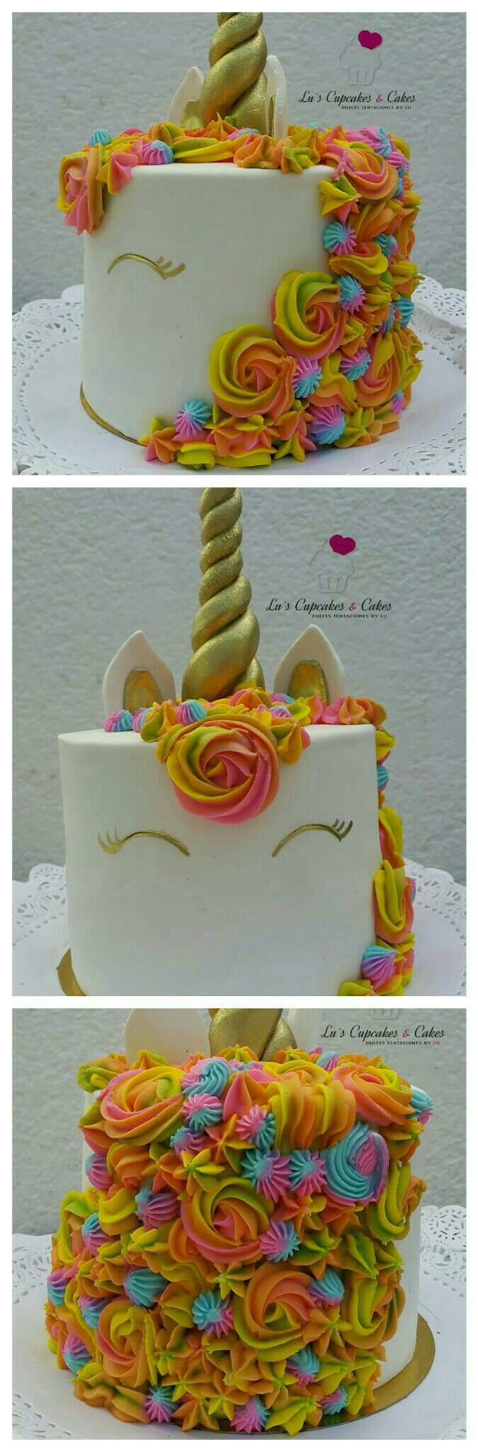Unicorn cake pastel unicornio #montevideo #uruguay glacé real fondant birthday girl