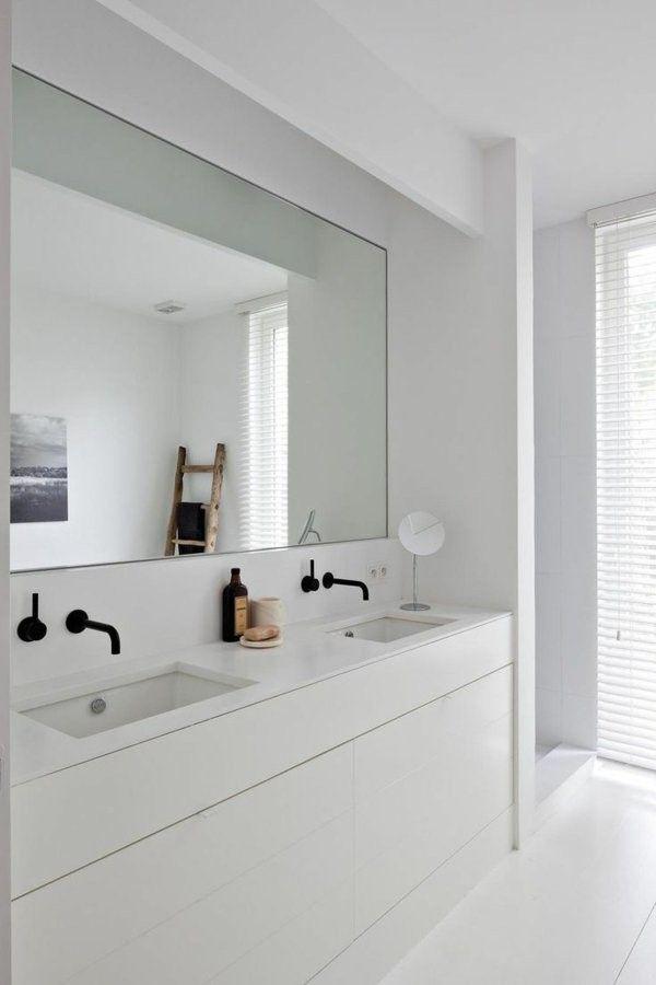 modern designer bathroom mirror