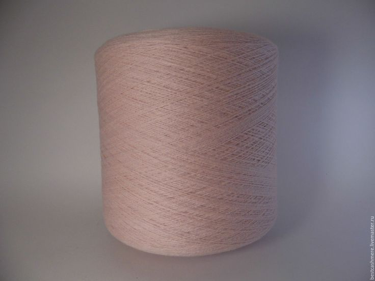 Купить Монгольский 100% кашемир 26/2 100гр розовый лимонад - бледно-розовый, 100% кашемир