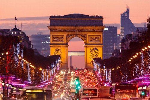 #excll #дизайнинтерьера #решения праздничные огни в Париже!