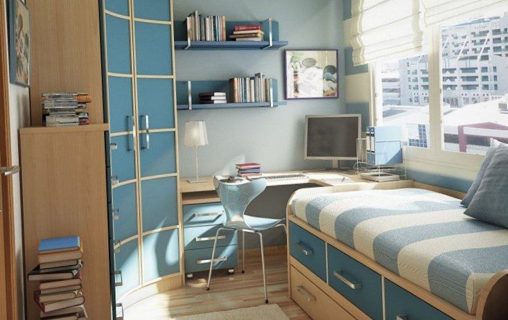 Space saving solutions for small bedrooms - https://bedroom-design-2017.info/small/space-saving-solutions-for-small-bedrooms.html. #bedroomdesign2017 #bedroom