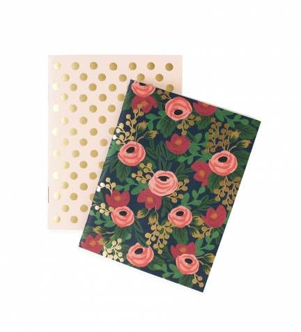 Rifle Paper Co. - Rosa - Pair Of Pocket Notebooks