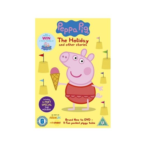 DVD Peppa Pig: The Holiday And Other Stories