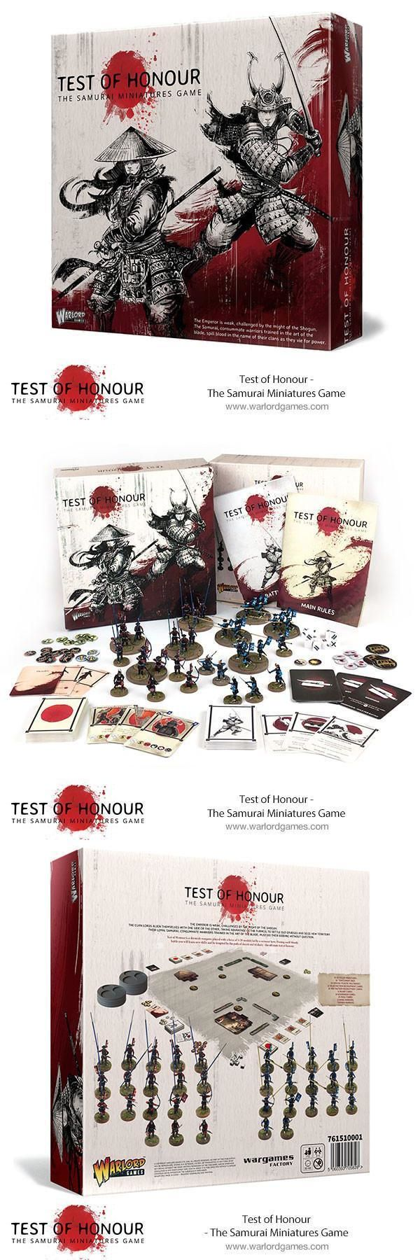Other Miniatures and War Games 2537: Warlord Games Test Of Honour - Samurai Game 28Mm New! -> BUY IT NOW ONLY: $32.5 on eBay!