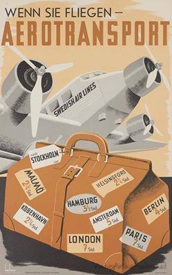 AB Aerotransport ~ Swedish Air Lines
