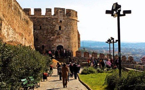Ανω πόλη Θεσσαλονίκης
