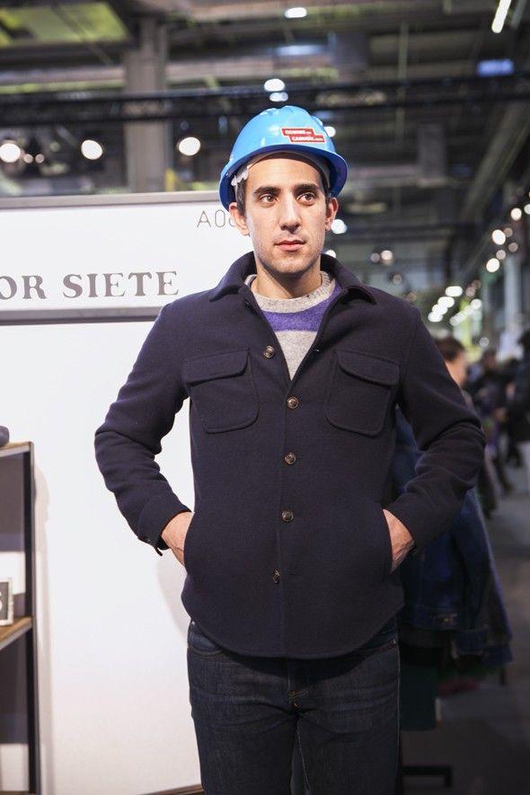 Surchemise en laine signée Color Siete #mode #homme #shirt #colorsiete #commeuncamion