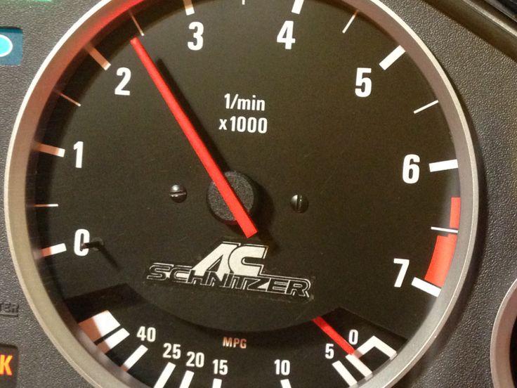 AC Schnitzer Clusters BMW Cluster E30 Motometer VDO