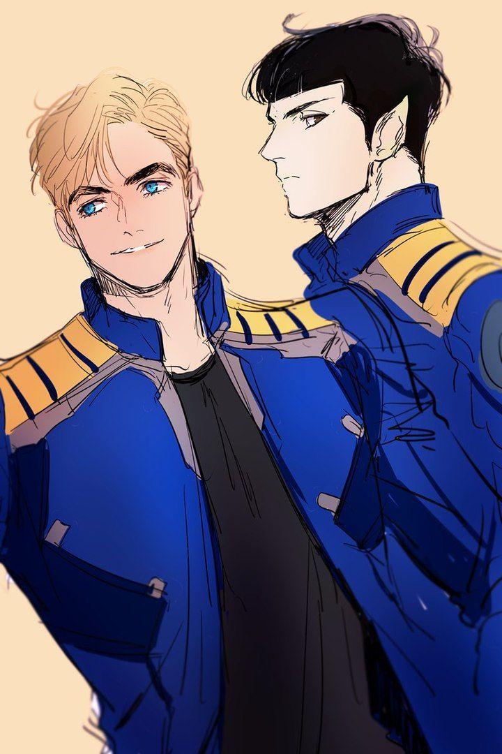 Kirk, Spock