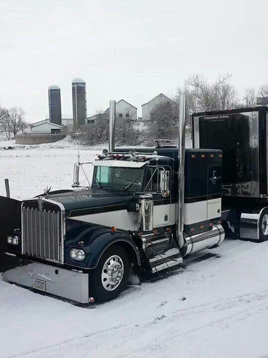 Kw Snow Kenworth Show Trucks Kick Ass Kenworths