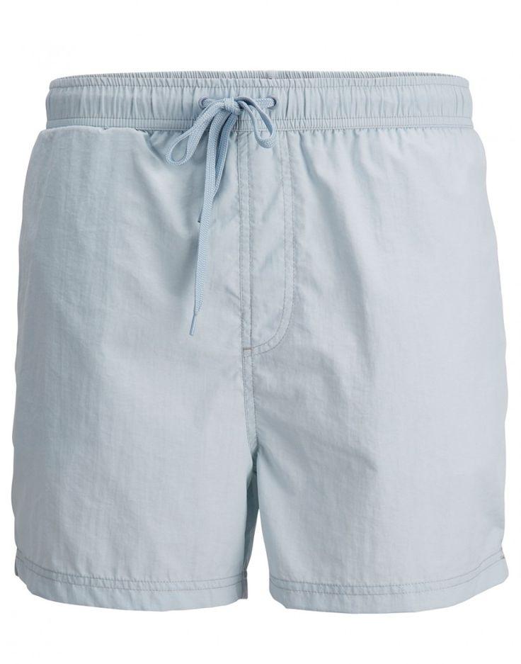 maillot de bain bleu clair color maillot de bain homme selected - Maillot De Bain Color