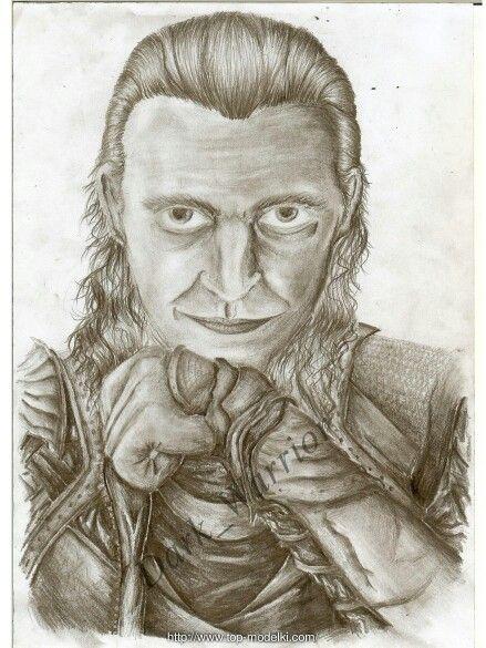 Loki by: Dark_Warrior  Artwithdarkwarrior.blogspot.com