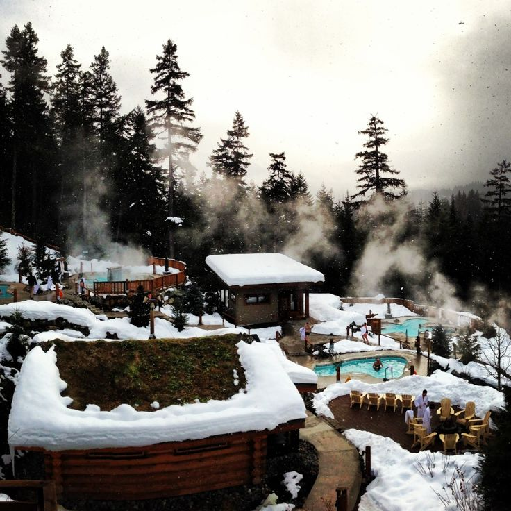A Day at the Scandinave Spa Whistler BC