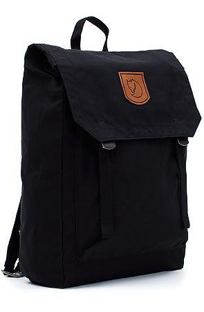 Fjallraven Backpack Foldsack No. 1 in Black - Karmaloop.com