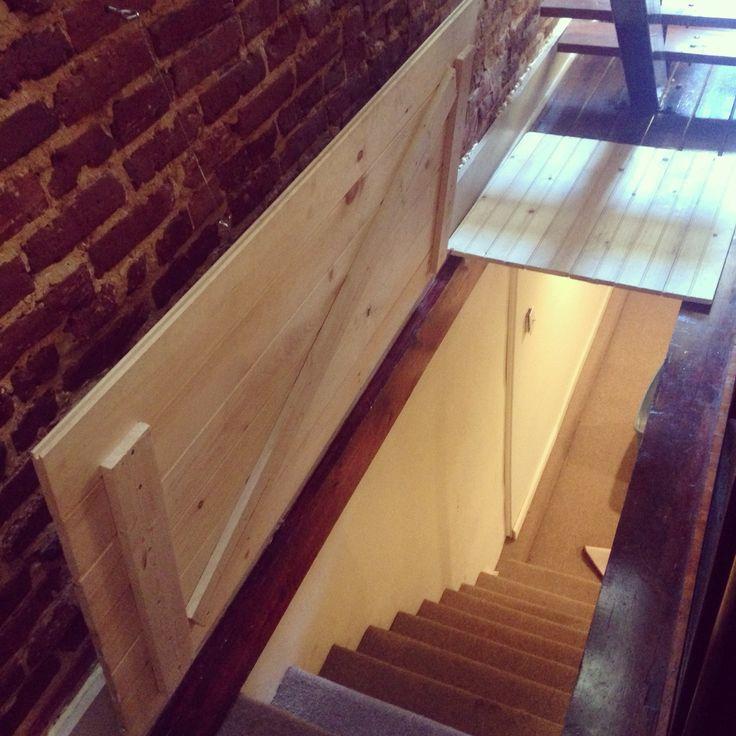 DIY Trap Door To The Basement Bedroom