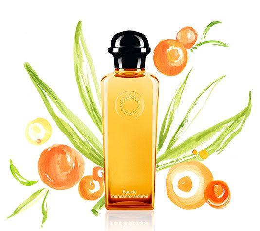 Eau de mandarine ambrée