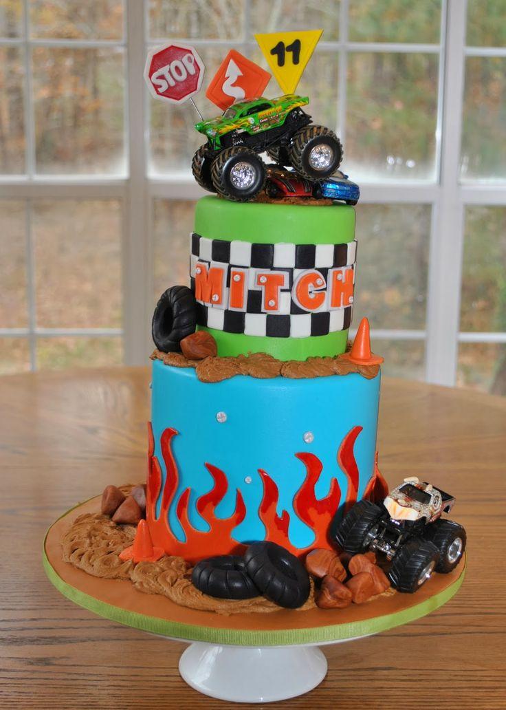 Hope's Sweet Cakes: Monster Truck Cake