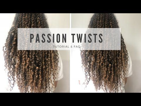 PASSION TWIST/ FLUFFY TWIST/BOHO TWIST TUTORIAL & FAQ 2018 RUBBERBAND METHOD FINE NATURAL HAIR – YouTube
