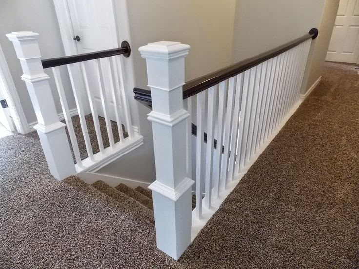 Best Stair Banister Renovation Build Around Existing Newel Post 400 x 300