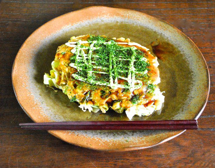 How to make okonomiyaki at home【RocketKitchen】