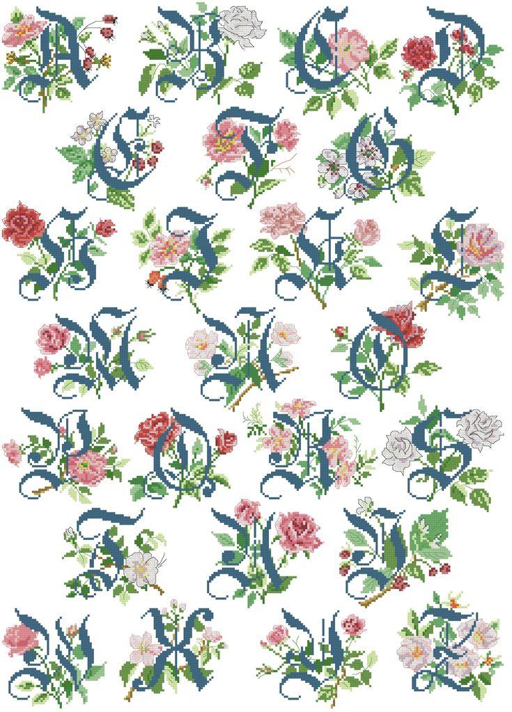 103 best cross stitch abc sampler images on pinterest for Alfabeto punto croce grande