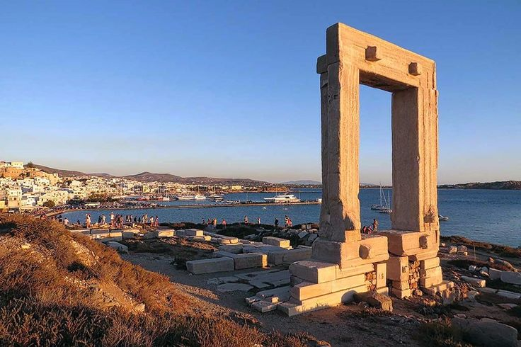 In one of the most popular location of Naxos in the Cyclades, available for sale beach plot of land, with its own beach and ready project for the development of holiday homes.