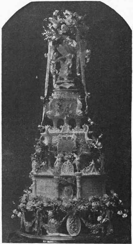 Queen Victoria's wedding cake 1840 (one of many cakes)
