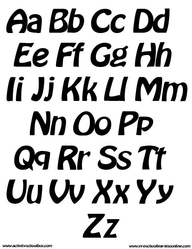 printable alphabet letters printable alphabet printable bubble letters printable letters signs pinterest alphabet lettering and bubble letters
