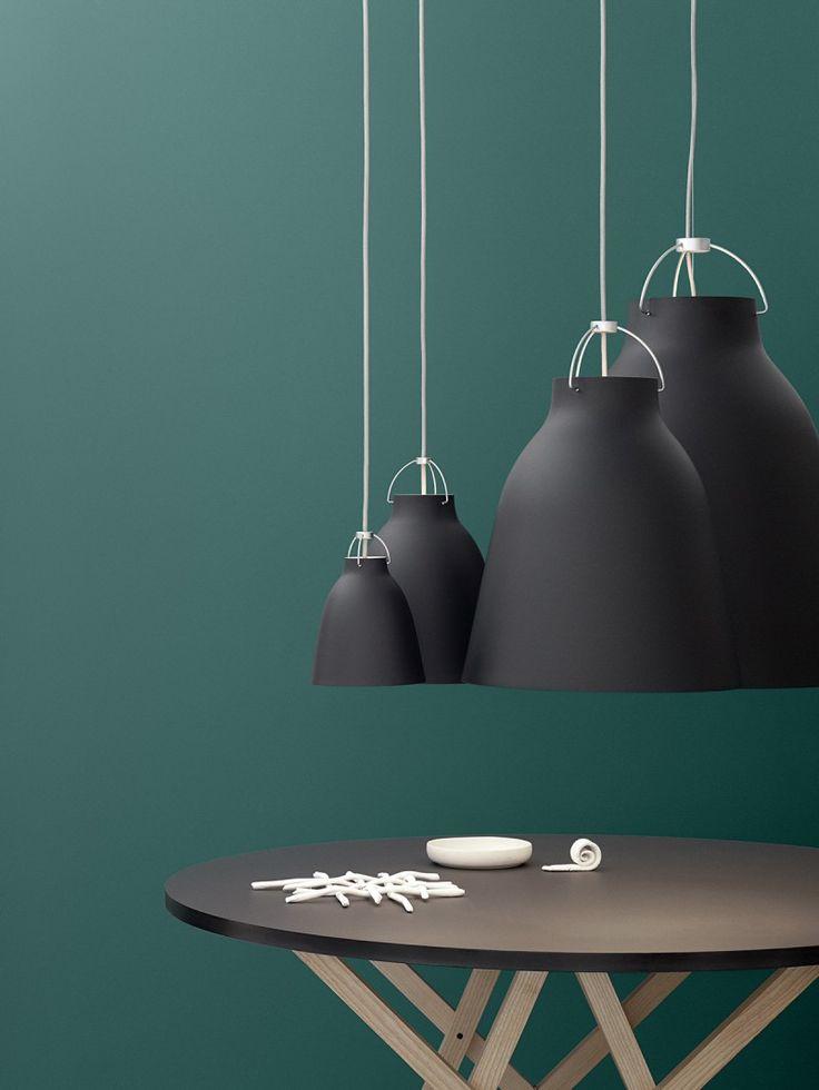 Lightyears Caravaggio Black, matte #lamp #leuchte #schwarz #black #design