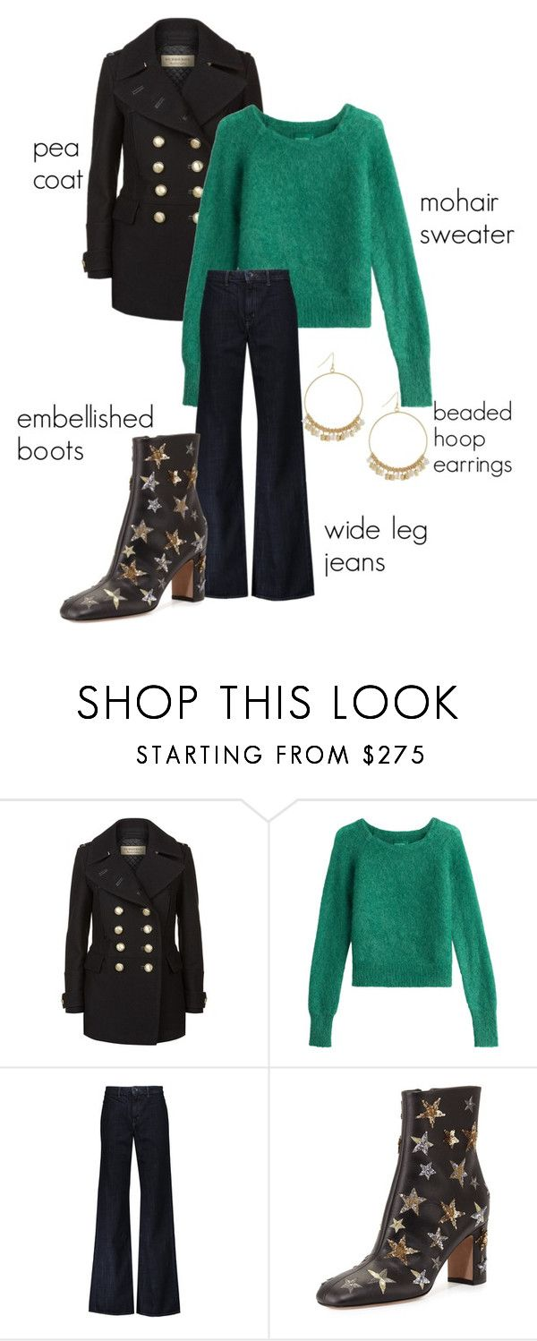 """""""Trending 11/30/2016"""" by lorelei-is-me ❤ liked on Polyvore featuring Burberry, Zadig & Voltaire, Helmut Lang, Valentino, BCBGeneration, Boots, peacoat, hoopearrings, widelegpants and mohairsweater"""