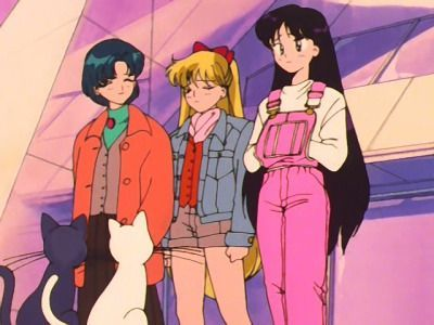 fitness aesthetic cartoon  rei's pink overalls in 2020
